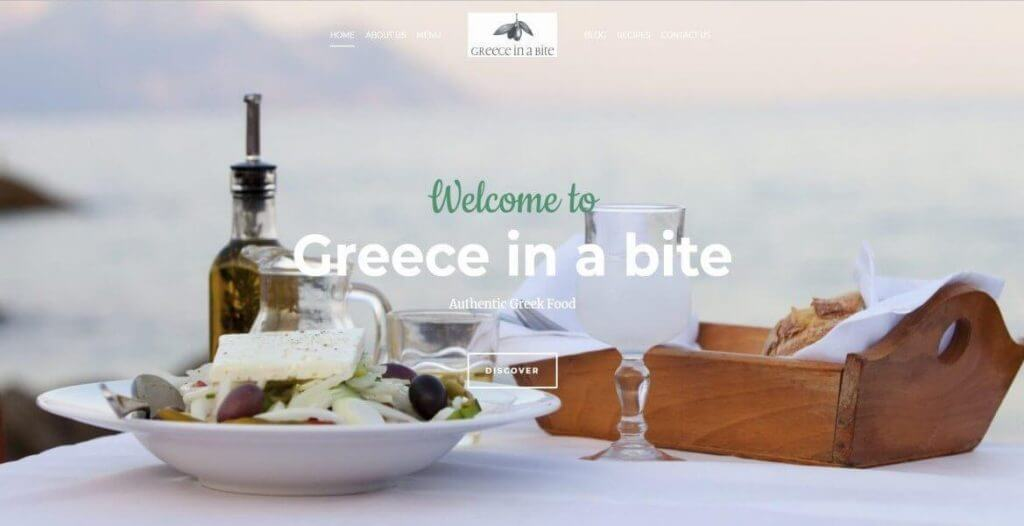 greece in a bite